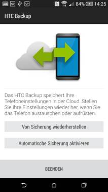 HTC One mini 2 Test