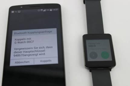 LG G Watch Test