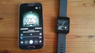 Android Wear Musikplayer