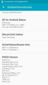 Samsung Galaxy S4 mit Android 5.0.1 Lollipop