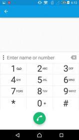Sony Xperia Z4 Oberfläche