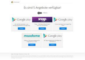 Google Chromecast Angebot