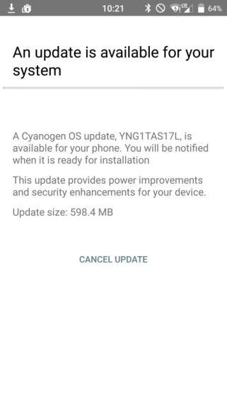 OnePlus One Update