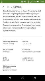 HTC One M9 RAW-Update