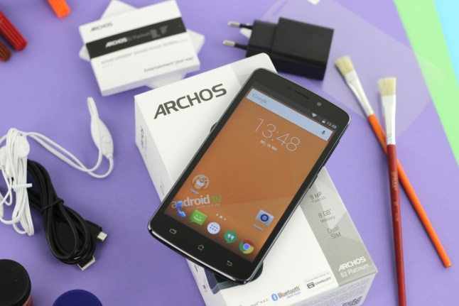 ARCHOS 52 Platinum Test