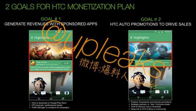 HTC Sense Werbung