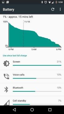 Motorola Moto G 2014 mit Android 6.0 Marshmallow