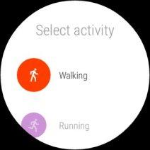 Googel Fit Update für Android Wear