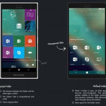 Windows 10 Mobile Konzept