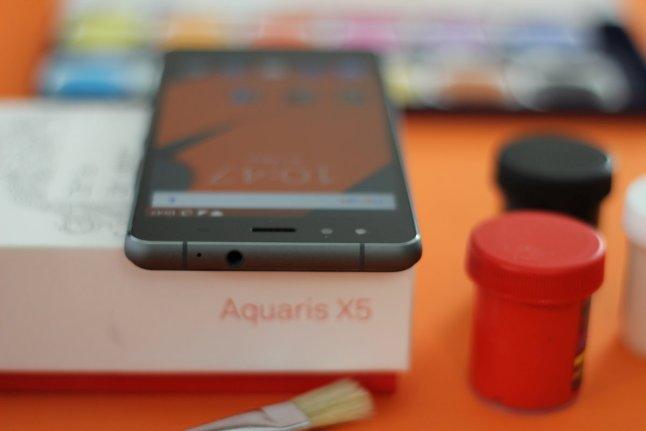 BQ Aquaris X5 Test