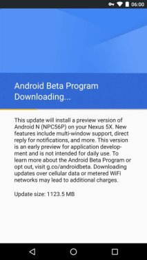 Android N Beta