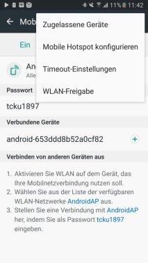 Samsung Galaxy S7 WLAN-Repeater