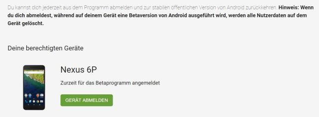 android-betaprogramm-austragen