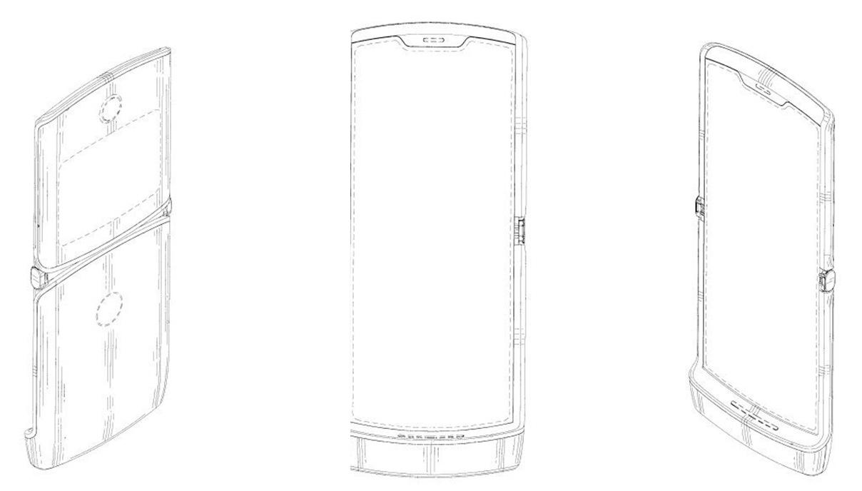 Motorola RAZR 2019: Patent bestätigt faltbares Display