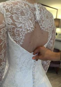 Wedding Gown Adjustments