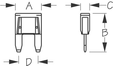 Sea-Dog, Mini Blade Fuse Mixed Kit