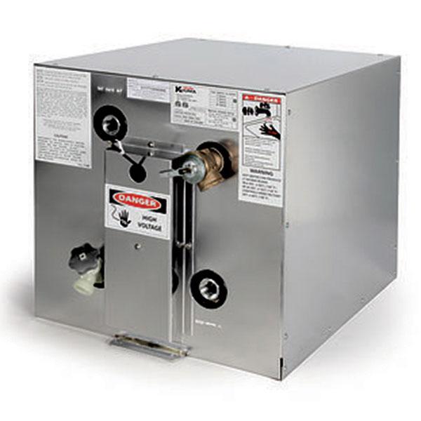 Kuuma 11 Gallon Water Heater, Front Mount, Rear Exchanger