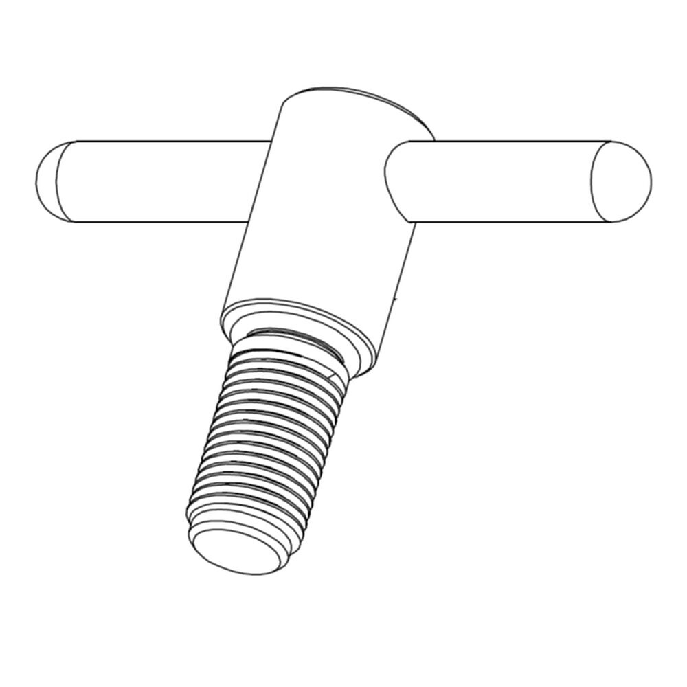 Racor Replacement Kit, Stainless Steel T-Handle Assembly