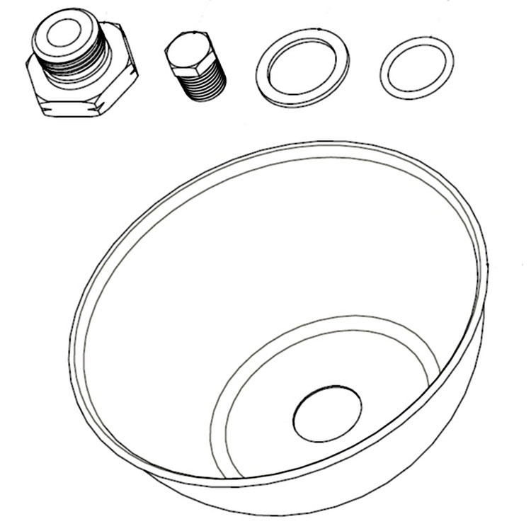 Heat Deflector Shield for Model 500MA