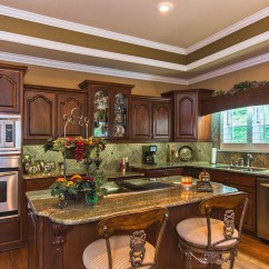 Granite Top Kitchen Island Red Aid Mixer Lake Jordan Al Waterfront Home For Sale-1665 Minnie Knight ...