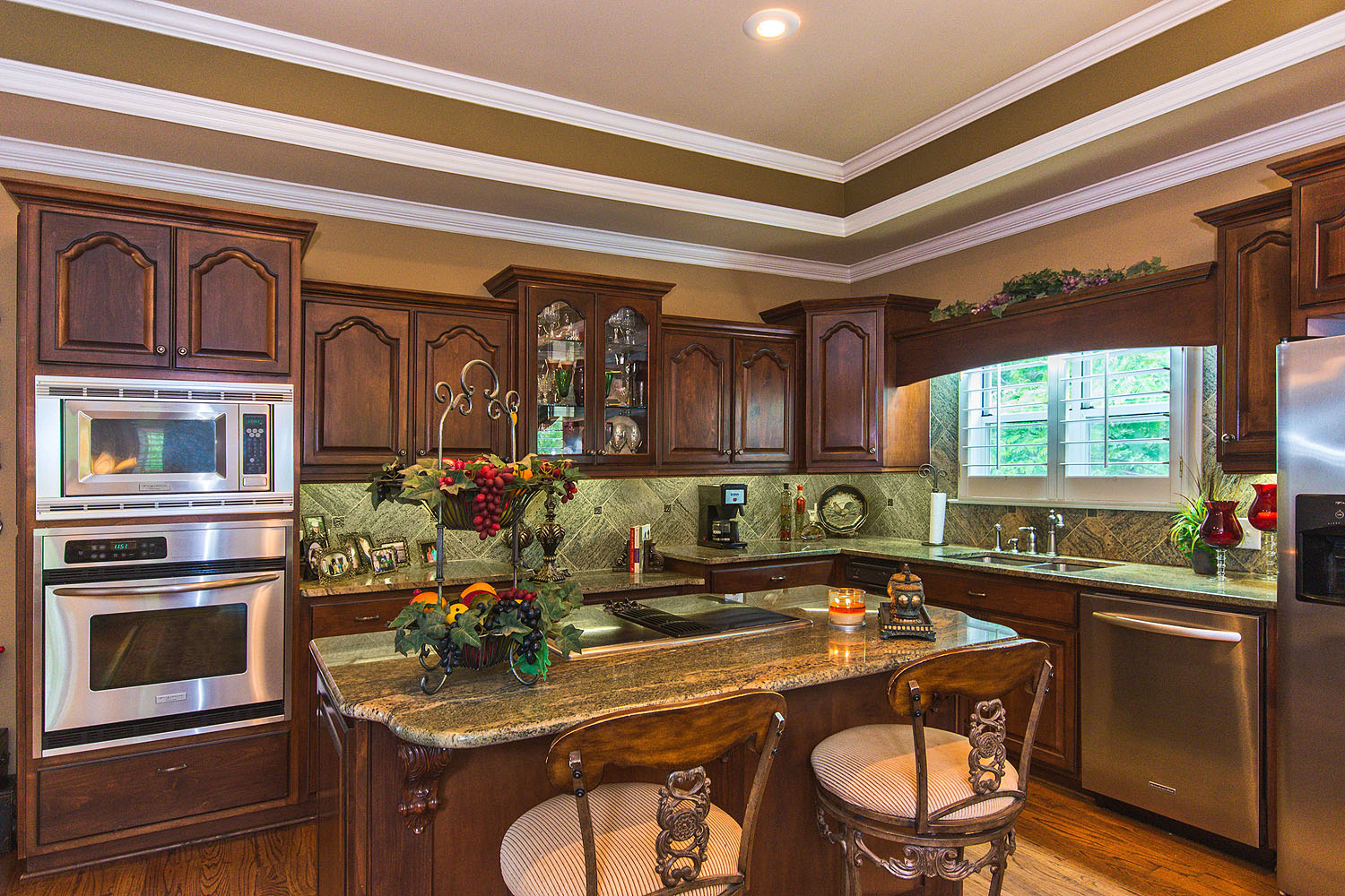 granite top kitchen island large sink dimensions lake jordan al waterfront home for sale-1665 minnie knight ...