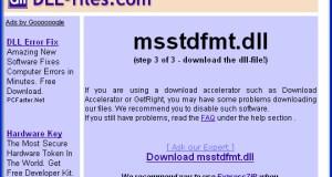 Msstdfmt.dll Free Download