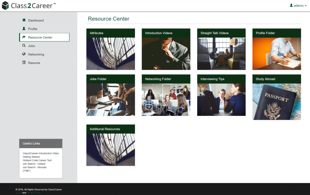 RESOURCE CENTER WITH VIDEOS and DOCUMENTS