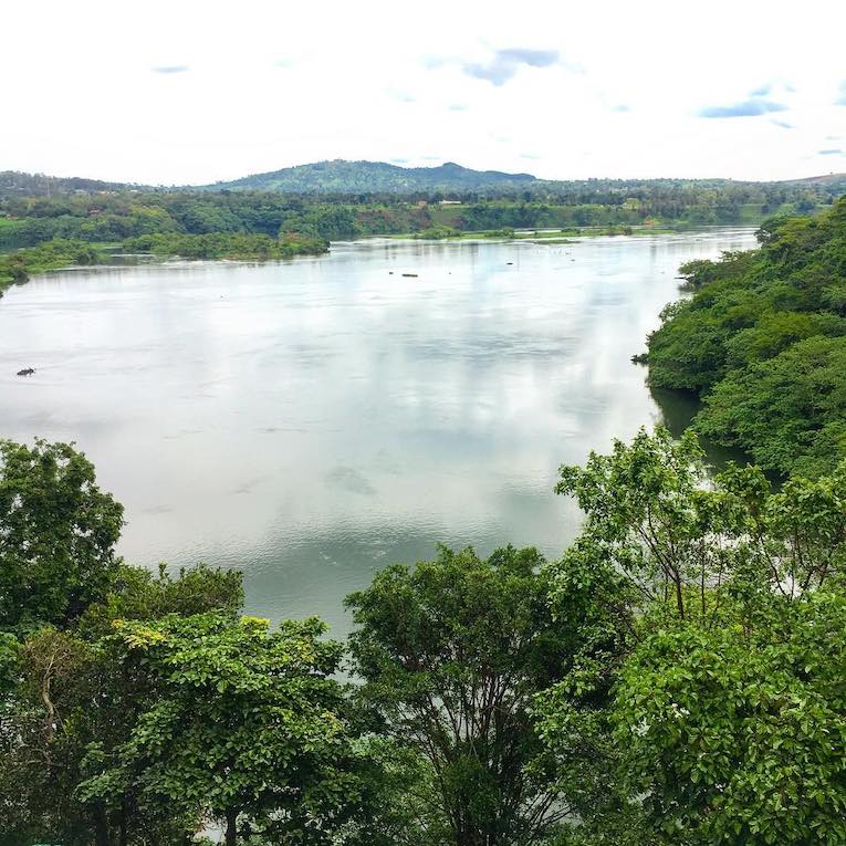 a view of the nile in uganda