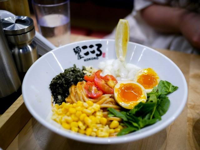 Kokoro Mazesoba Vegan Noodle