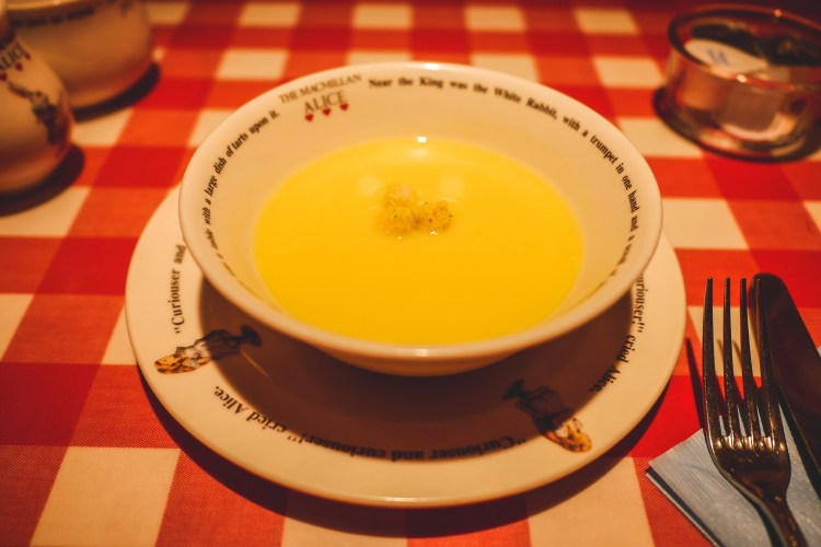 rakeru corn soup