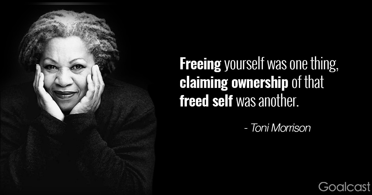 Why Do We Fall Bruce Wallpaper 16 Toni Morrison Quotes To Make You Hold Your Head High
