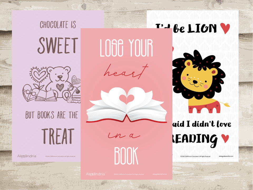 February Reading Posters and Valentine's STEM Activities