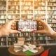 library social media