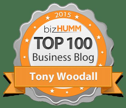 BizHUMM Award for 2015 Top 100 Business Blogs