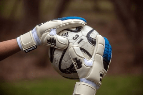 L1 Goalkeeper Gloves 1st Generation (Blue Trim)