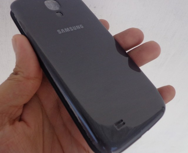 galaxy s4 flipcover back side