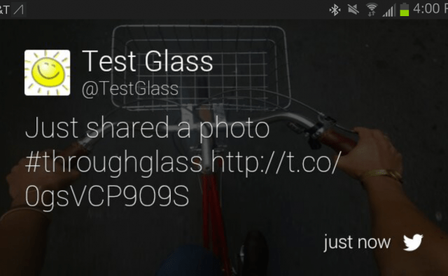 google glass facebook twitter apps