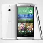 htc one e8 white all sides