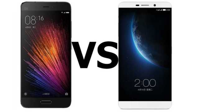 LeEco Le Max 2 vs Xiaomi Mi5