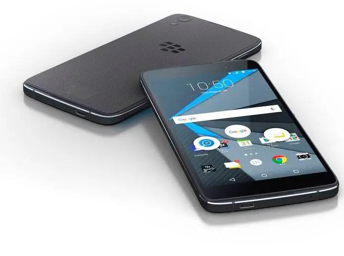 Blackberry DTEK 50 Front Back