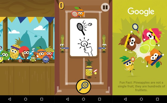 Checkout Google Doodle Olympic Themed Games Goandroid
