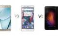 Specs Comparison: Samsung Galaxy A9 Pro (2016) vs OnePlus 3 vs Xiaomi Mi5
