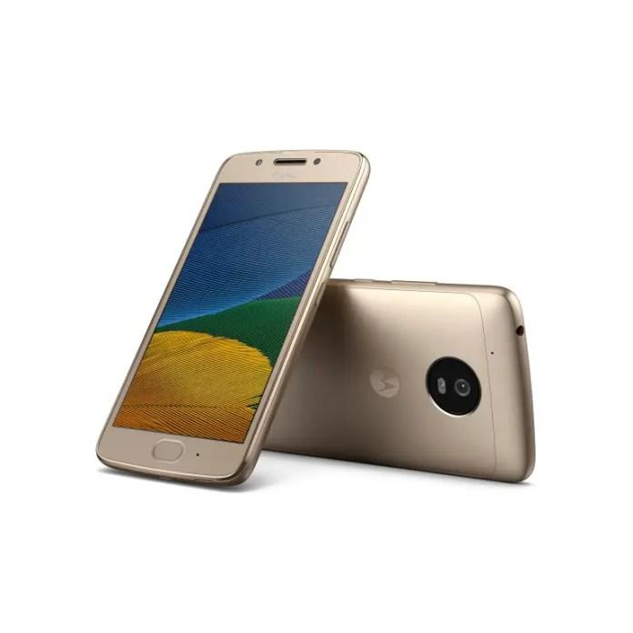 Moto G5 Fine Gold
