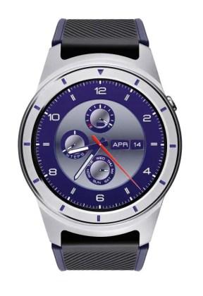 zte quartz smartwatch blue