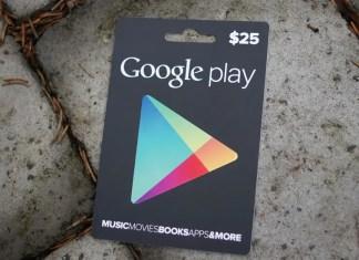 Google Play E-Gift Card