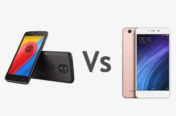 Motorola Moto C vs Xiaomi Redmi 4A