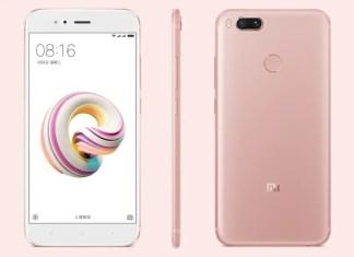 Xiaomi Mi 5X Rose Gold