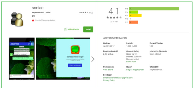 Google Play Store Spyware