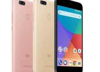 Xiaomi Mi A1 colors