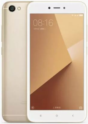 Xiaomi Redmi 5A front and back